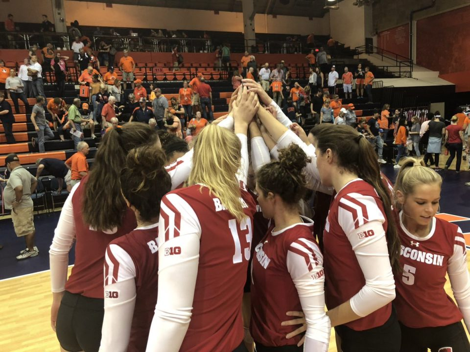 Wisconsin Rallies Past Illinois Behind Career Night by Rettke