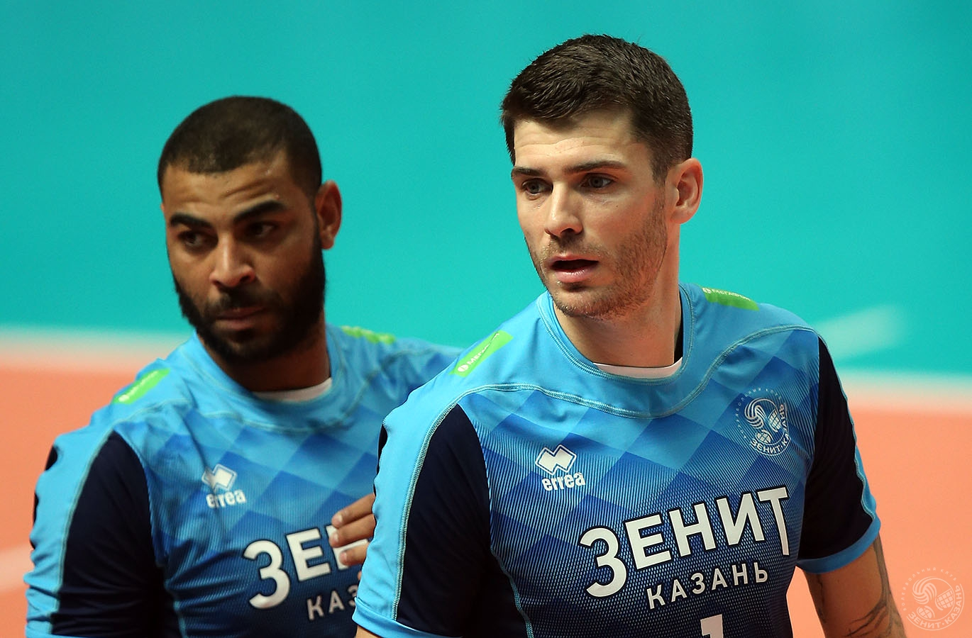 524226fb8baf Earvin Ngapeth And Matt Anderson Share The Court For The First Time As  Zenit Kazan Beats Kemerovo 3-1