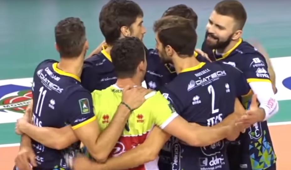 ITA Recap: Russell and Trentino Remain Unbeaten; Latina and Padova Win