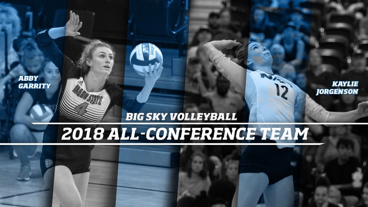 Garrity, Jorgenson Tabbed as Co-MVPs of Big Sky Conference