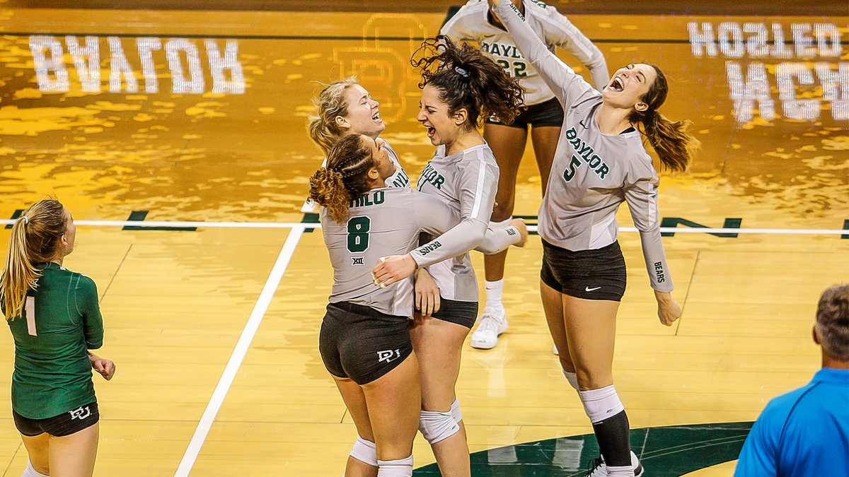 Baylor Rallies from Down 2-0 to Edge Hawaii 3-2 in NCAA First Round