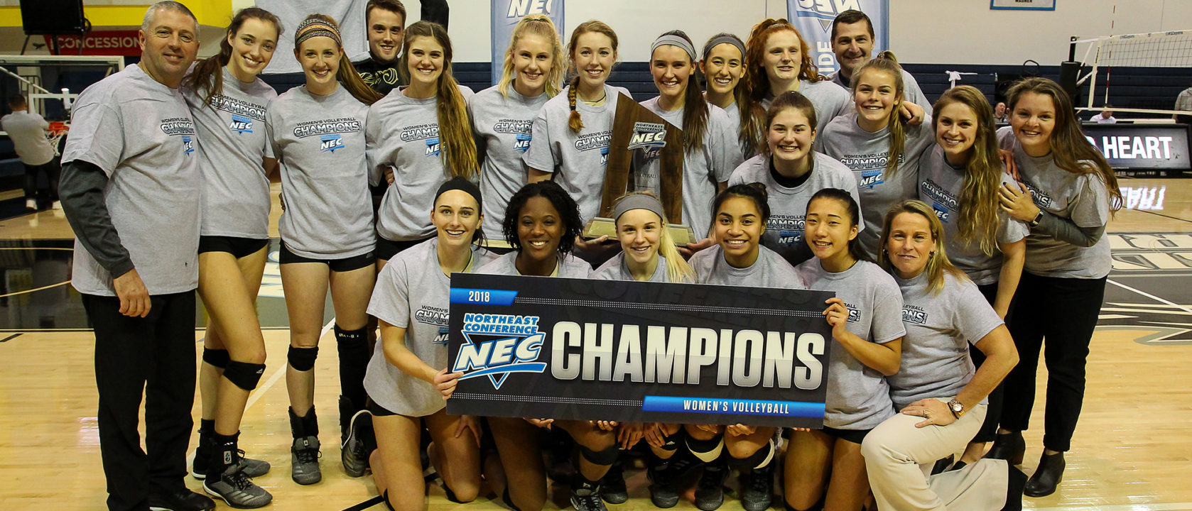 Bryant Sweeps Sacred Heart to Claim First NEC Title