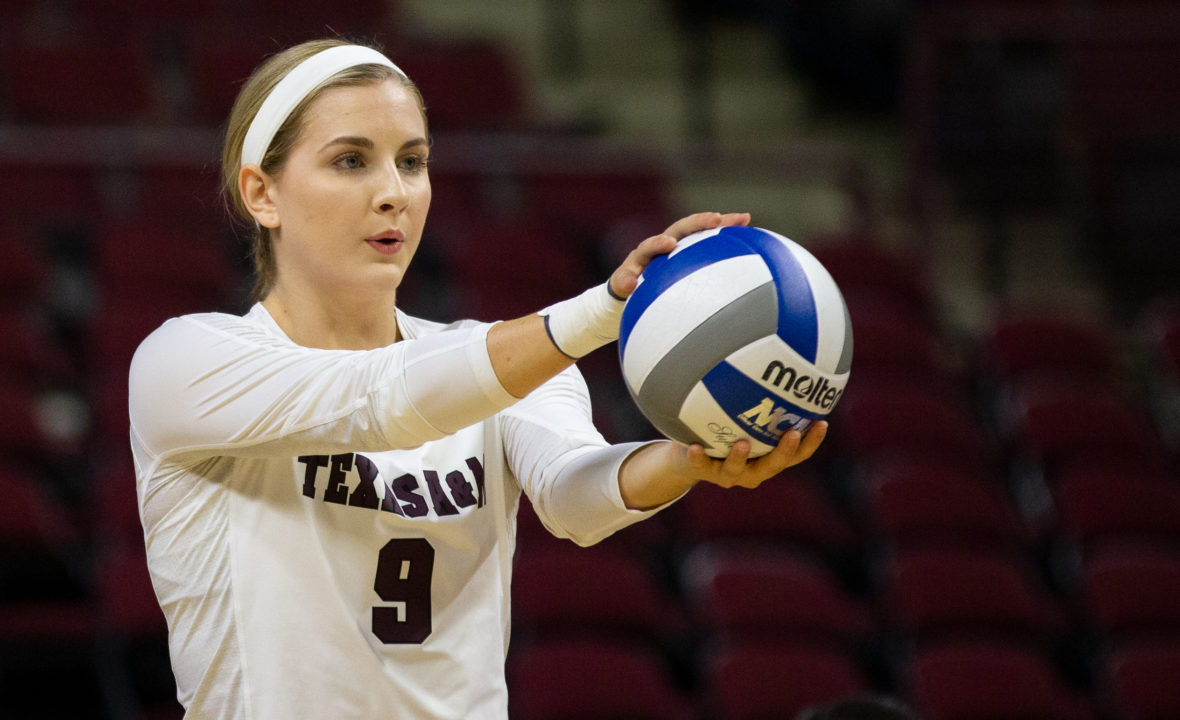 Hans, Houser Set Season Records as Texas A&M Edges LSU in 5