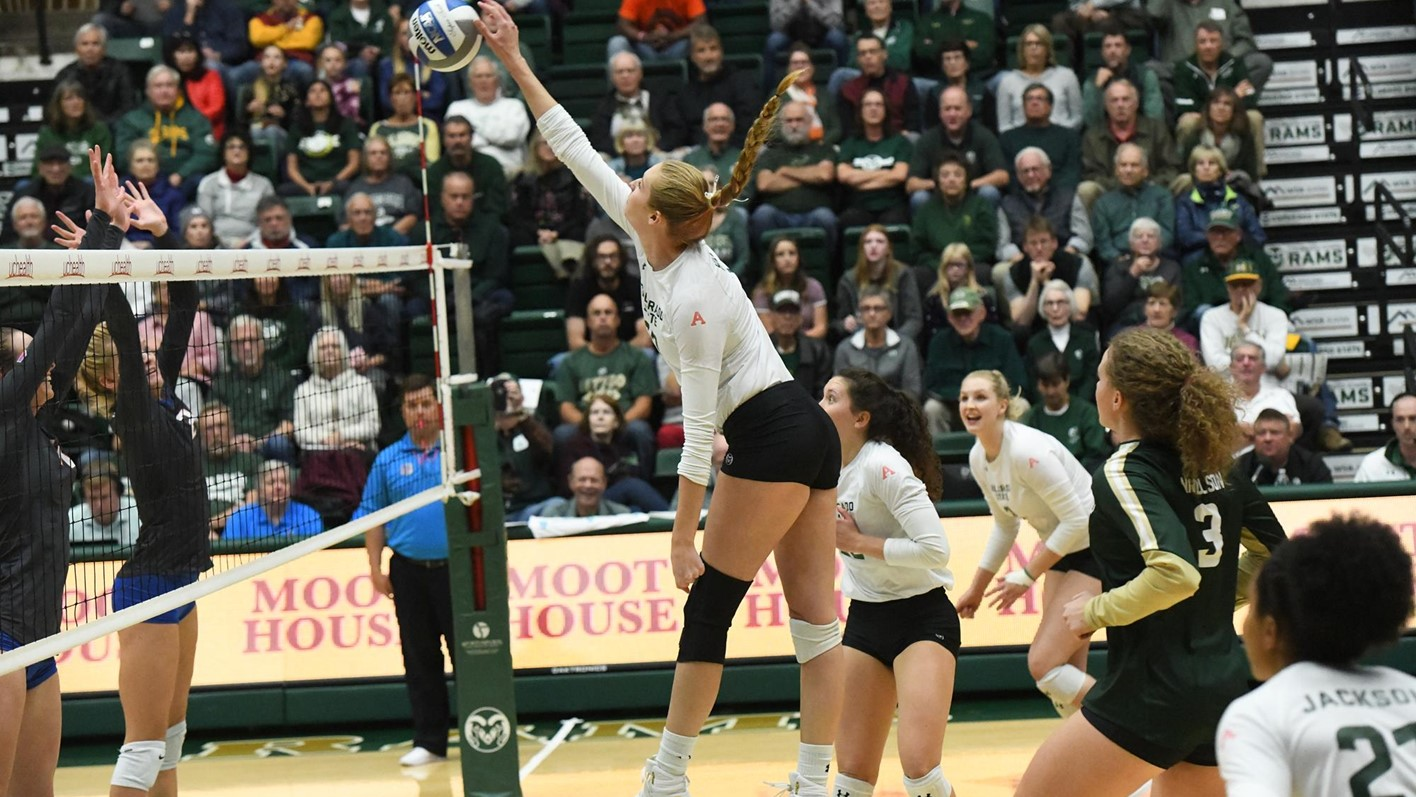 Colorado State's Hillyer Earns 3rd MVC Nod, SJSU's Andrade Honored for Defense