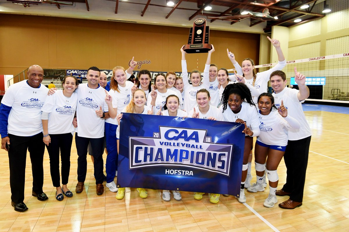 Hofstra Wins in 5 to Take CAA Tournament Title, Earn First ...