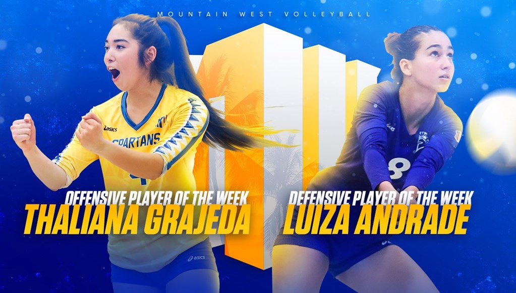 San Jose State's Grajeda, Andrade Tabbed as Week 13's Best of Mountain West