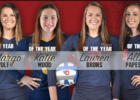 Bruns, Papesh, Wolf, Wood Tabbed for A-10 Player of the Year Honors