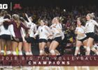 Minnesota Sews Up Outright Big Ten Title with 5-Set Win Over Ohio State