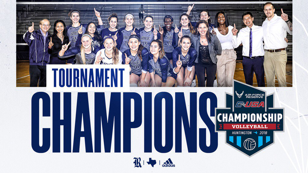 Rice Punches Ticket to NCAAs for 1st Time since 2009 with C-USA Tourney Title