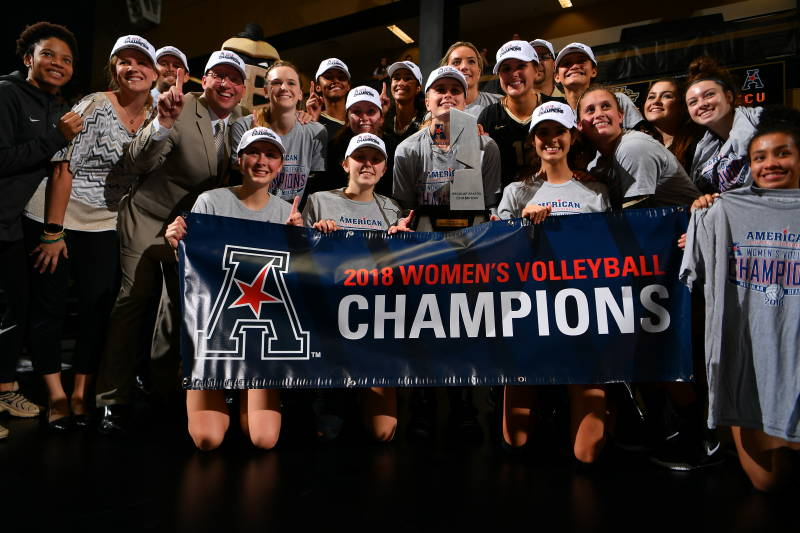 UCF Captures American Athletic Conference Title with 21st Straight Win