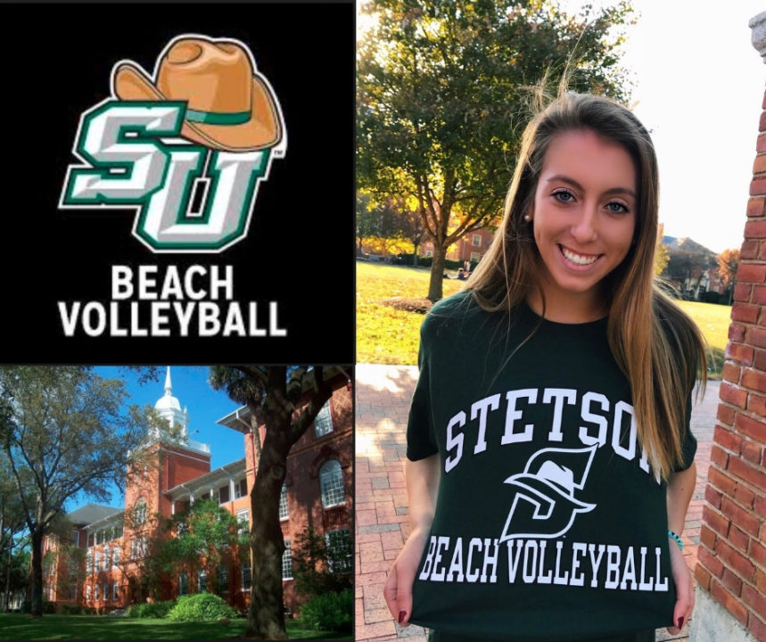 North Carolina HS Star Lauren Della Commits to Stetson Beach Volleyball
