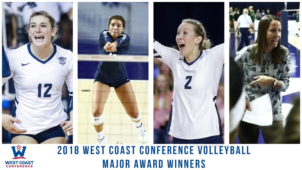 BYU's Jones-Perry, Lake, Gneiting, Olmstead Sweep 2018 WCC Awards