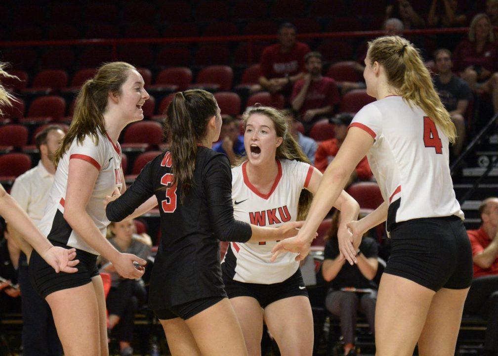 Four Double-Digit Kill Efforts Push WKU Past UAB, One Shy of 19th Straight 20-Win Season