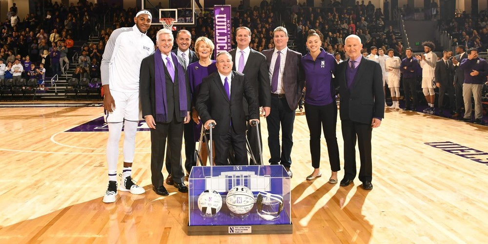 Northwestern Unveils Newly Renovated Welsh-Ryan Arena