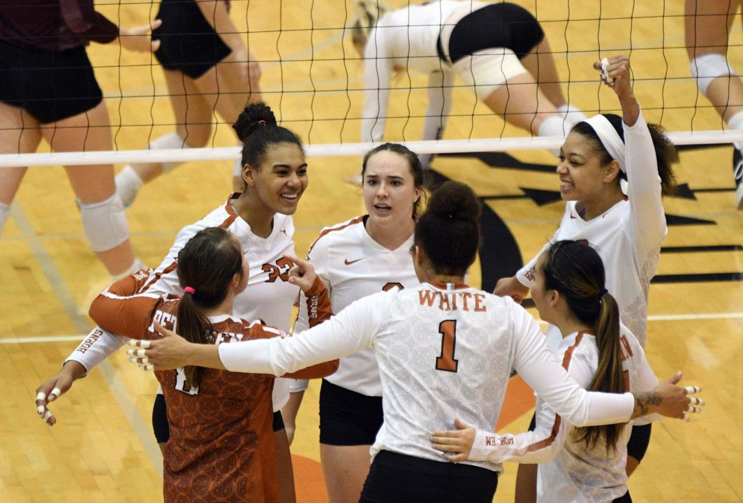 13 In a Row: Texas Sweeps Texas State to Claim Spot in NCAA Regionals