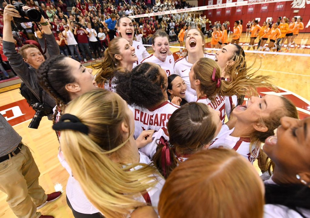 Washington State Uses 3 Double-Digit Kill Efforts to Get Past Tennessee to First Sweet 16 Since 2002