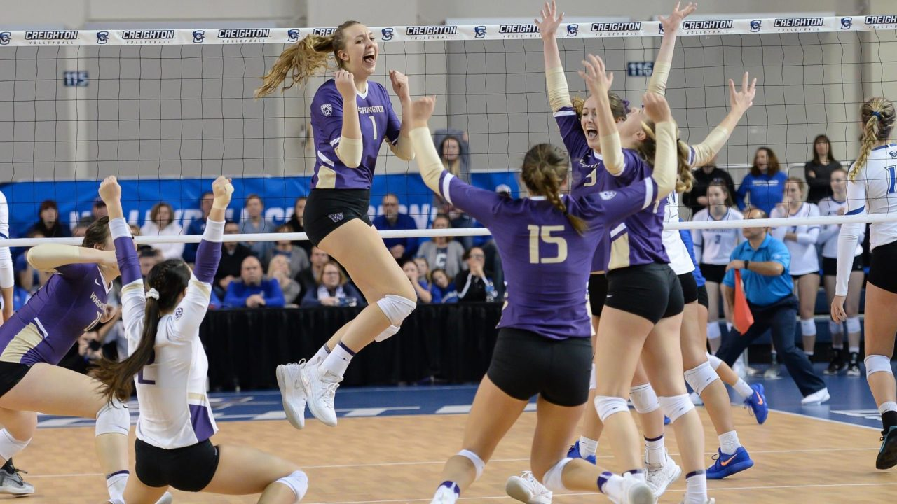 Washington Ousts #9 Seed Creighton Via Sweep